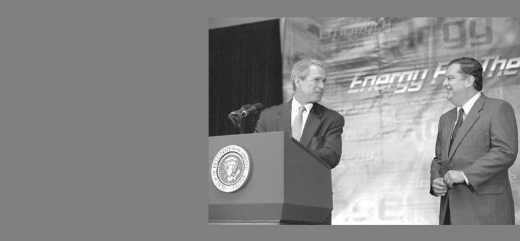 June 28, 2001: President Bush announces $85.7 million in Federal grants