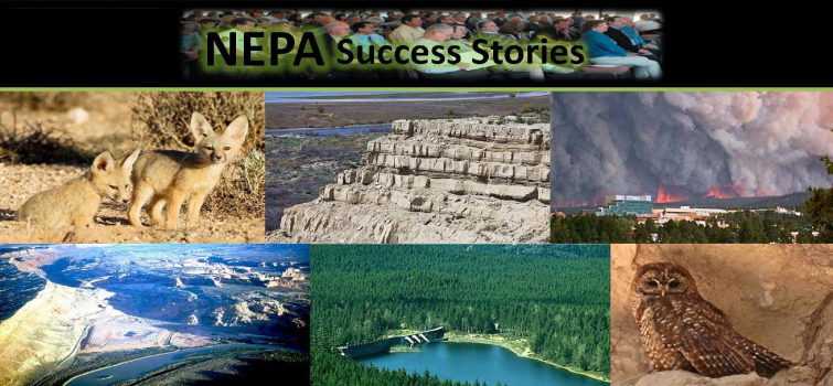 NEPA Success Stories from Lessons Learned Quarterly Reports
