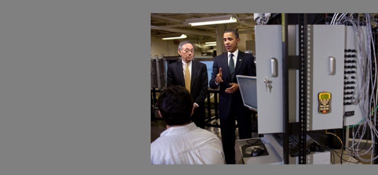February 3, 2011: Obama and Chu at Penn State