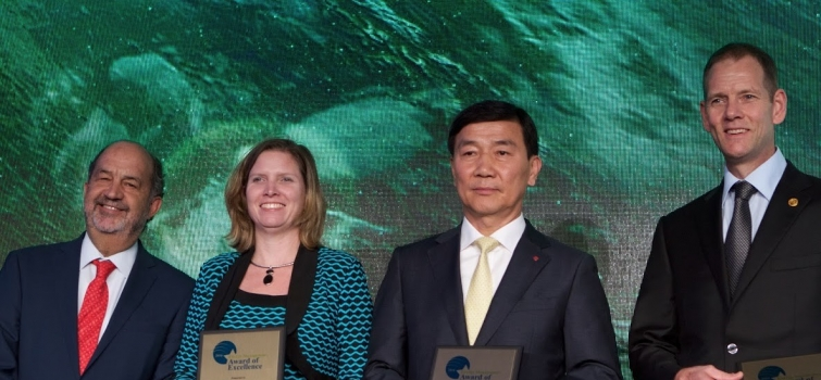 Cummins Receives Top Global Energy Management Award