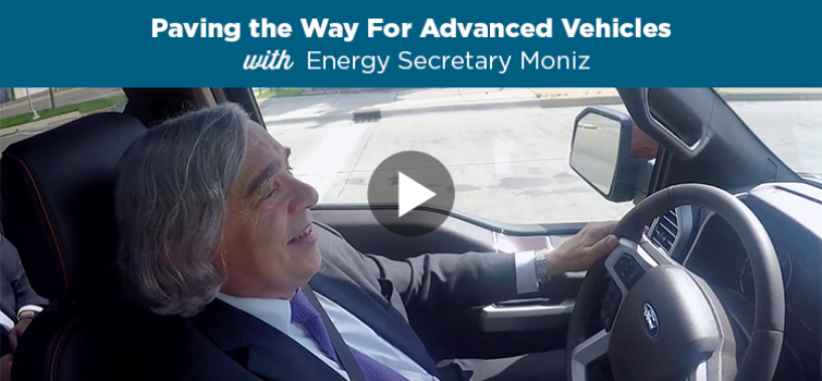 Get Behind the Wheel with Secretary Moniz