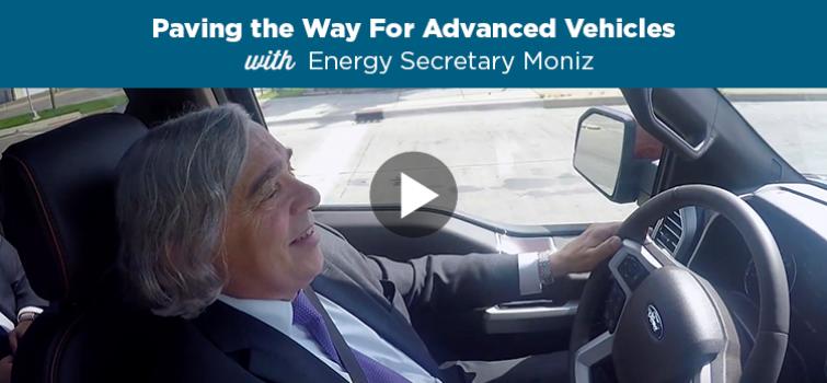 Get Behind the Wheel with Secretary Moniz