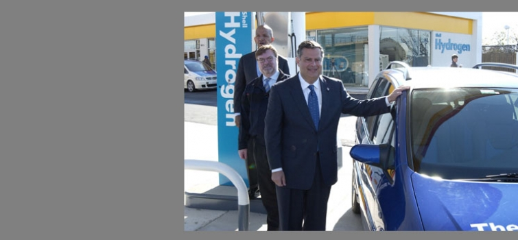 November 10, 2004: First hydrogen refueling station opens in Washington, DC.