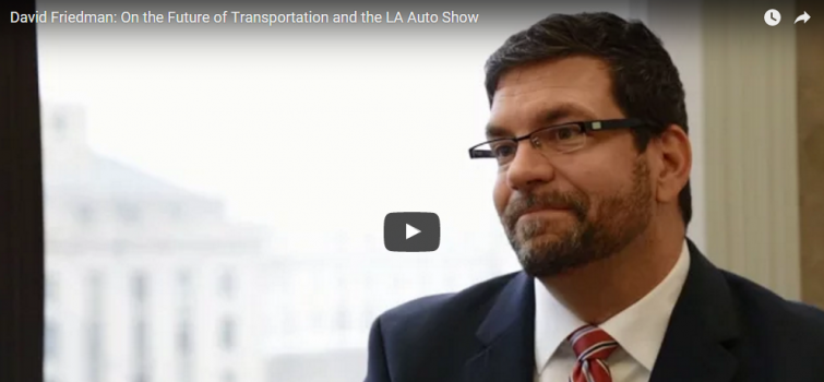 David Friedman Touts Success of EERE's Transportation Investments