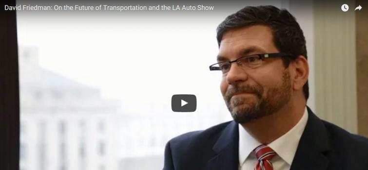 David Friedman Touts Success of EERE's Transportation Investments