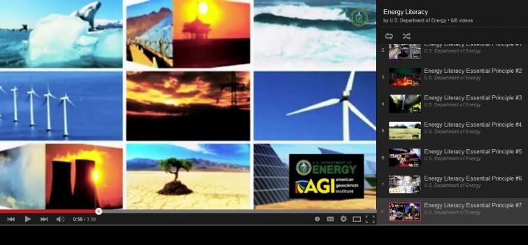 NEW! Energy Literacy Video Series