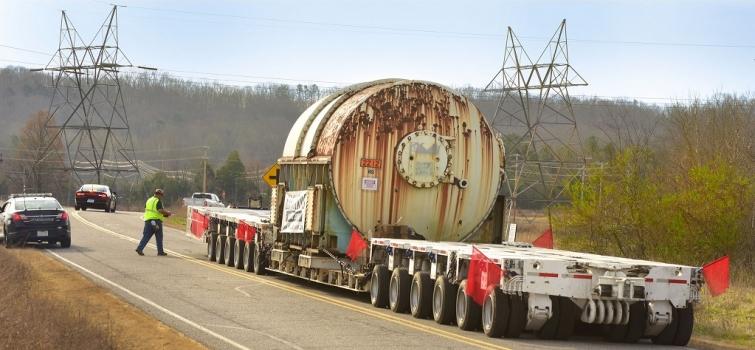 Oak Ridge's EM Program Unplugs Former Electrical Switchyard