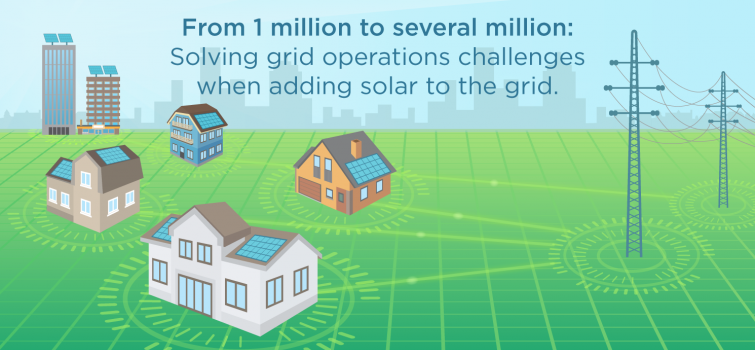 Energy Department Announces $25 Million to Speed Integration of Solar into Grid
