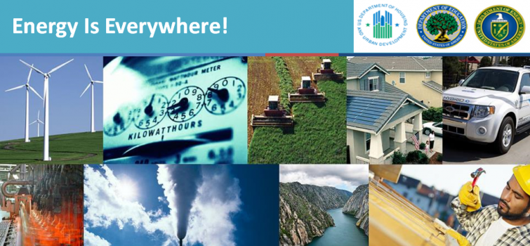 """The """"Energy Is Everywhere!"""" webinar series is focused on low-income and public housing communities."""