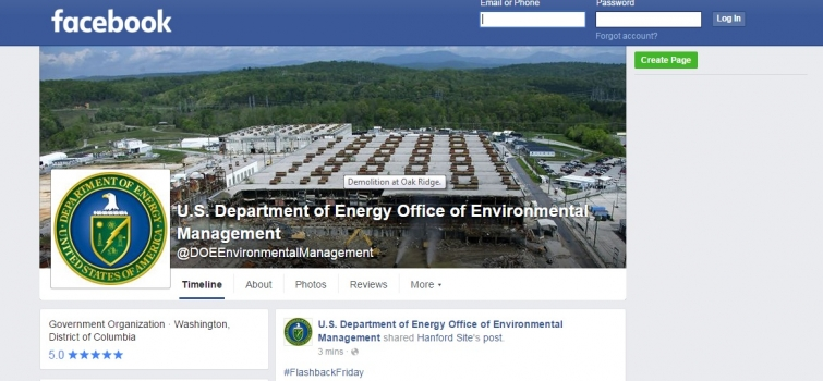 EM Launches Facebook Page