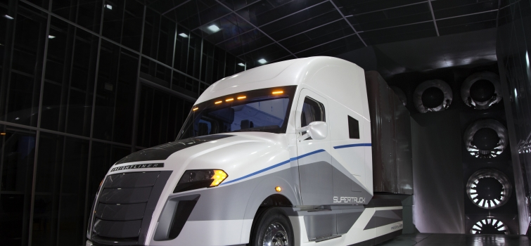 SuperTruck Achieves 115% Freight Efficiency Improvement
