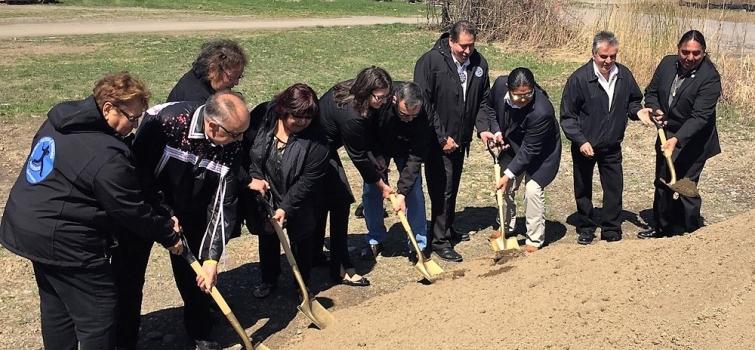 Seneca Nation of Indians Breaks Ground on Community-Scale Wind Turbine