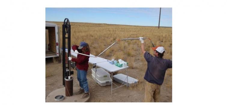 Water sampling and analysis at Idaho National Lab