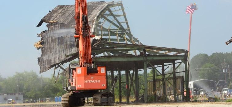 DOE completes demolition of K-31 building
