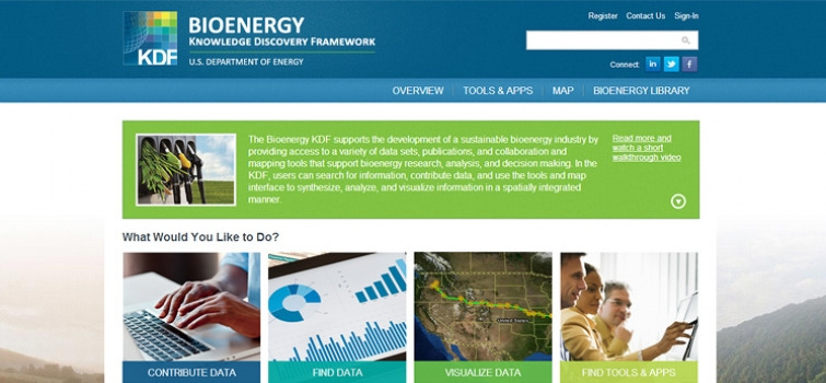 U.S. Department of Energy Bioenergy Knowledge Discovery Framework