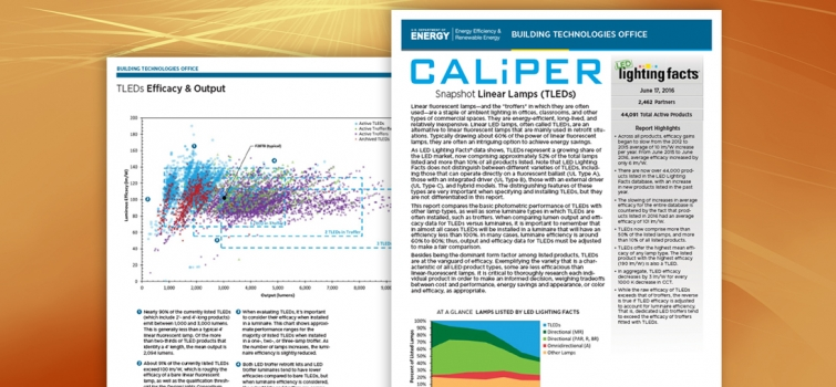 New CALiPER Snapshot on TLEDs