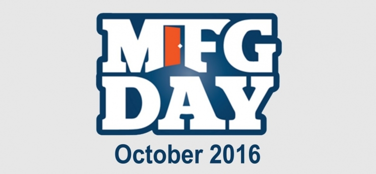 Save the Date: Manufacturing Day October 7, 2016!