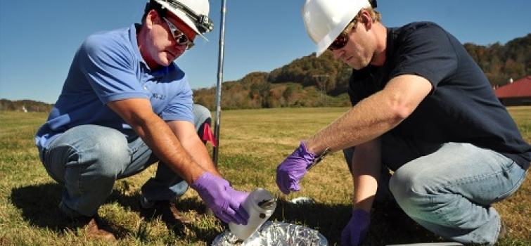 Soil Sampling at Oak Ridge National Lab