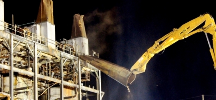Demolition of Steam Plant at the Portsmouth Site