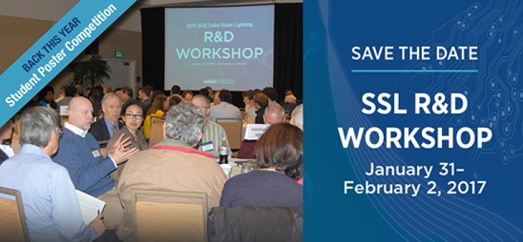 Save the Date for DOE's 14th Annual R&D Workshop
