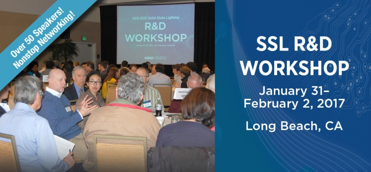 Register Now for DOE's 14th Annual R&D Workshop