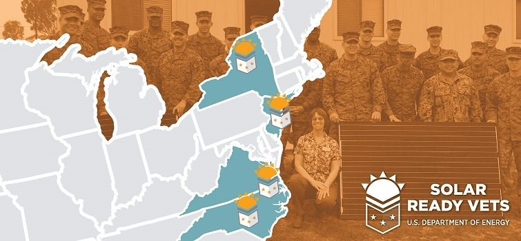 Five New Training Locations Will Prepare Veterans for Solar Jobs