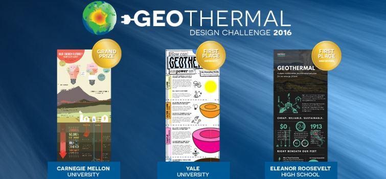 Winning Infographics Depict Future of Geothermal Energy