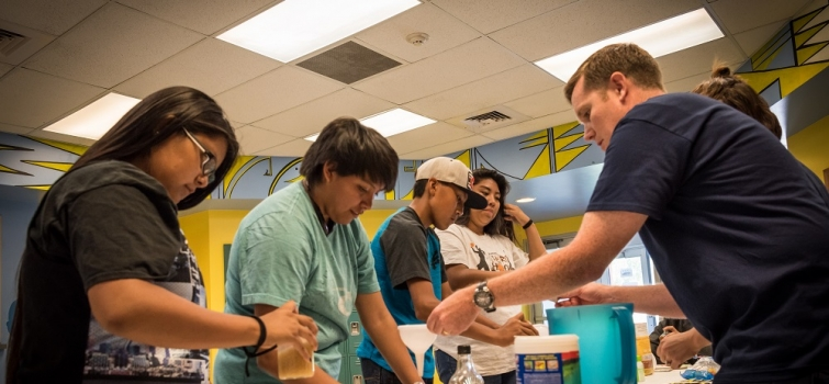 Youth Get Energized About Clean Energy at Ute Mountain Ute Workshop