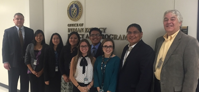 Washington Native Interns Spotted in DOE Headquarters Building