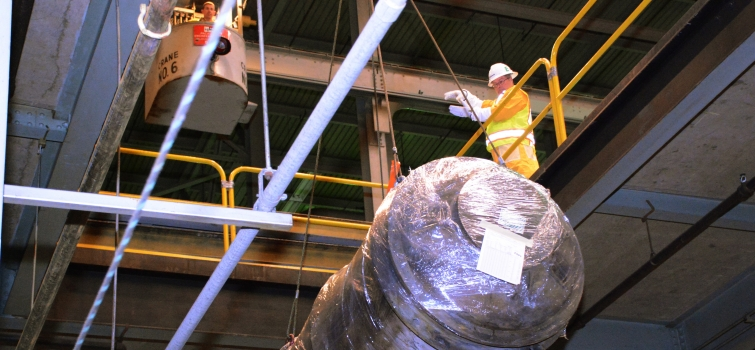 Removal of Process Gas Equipment Marks Portsmouth Site Cleanup Milestone