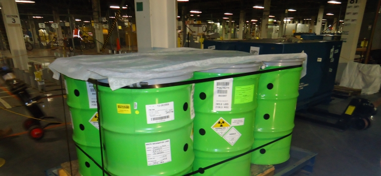 DOE's Portsmouth Site Disposes of Decades-Old Waste Stream