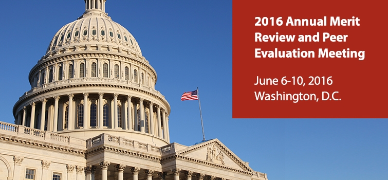 View the 2016 Annual Merit Review Proceedings