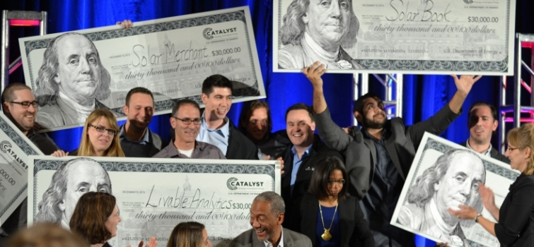 Seven Teams Win Big at Catalyst Energy Innovation Demo Day