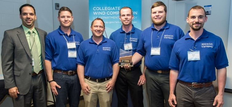 Boise State Wins Collegiate Wind Competition 2015