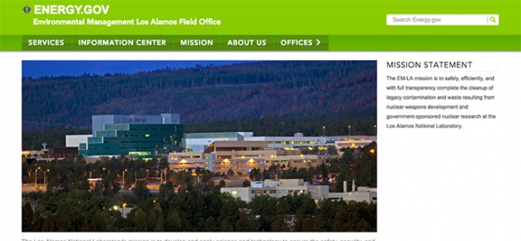 Los Alamos Is Latest EM Field Office to Transition to Energy.Gov Website