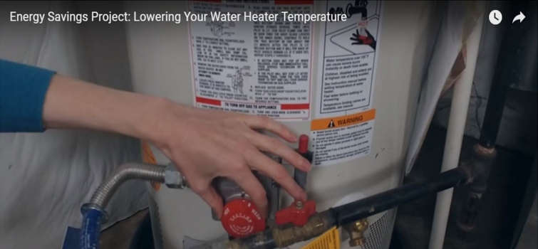Lowering Your Water Heater's Temperature