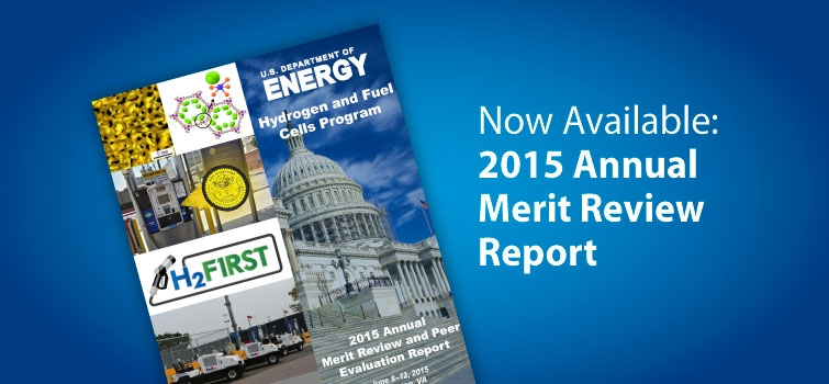 View the 2015 Annual Merit Review Report