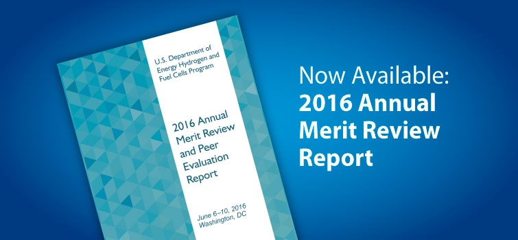 View the 2016 Annual Merit Review Report