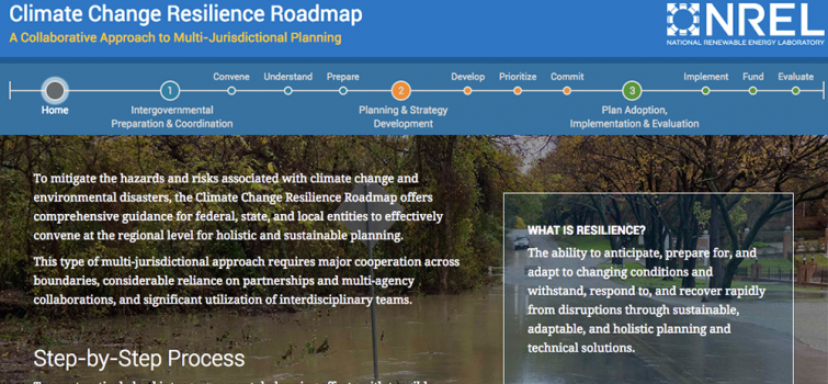 Climate Change Resilience Roadmap
