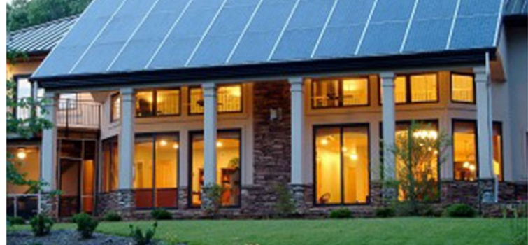 Home design remodeling department of energy for Solar powered home designs