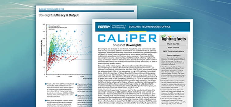 New CALiPER Snapshot on LED Downlights