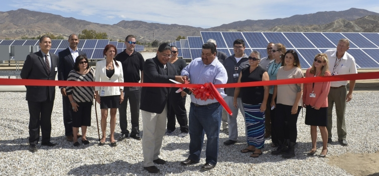 Soboba Band of Luiseño Indians Celebrates New Solar System
