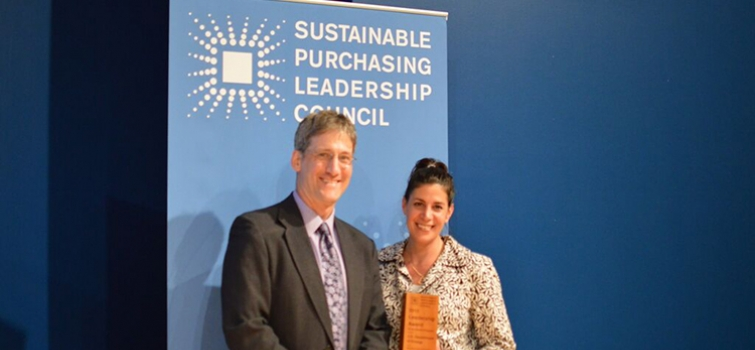 2015 Awards For Leadership In Sustainable Purchasing Announced