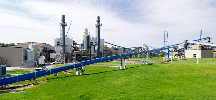 Savannah River Site's Biomass Steam Plants