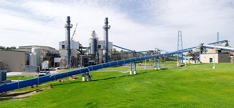 Savannah River Site's Biomass Steam Plants