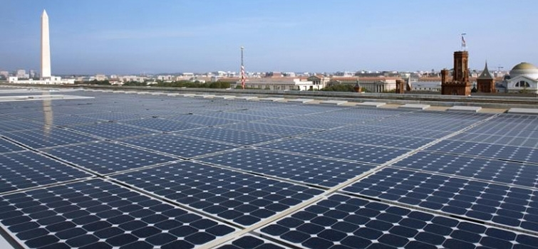 Forrestal's Rooftop Solar Array