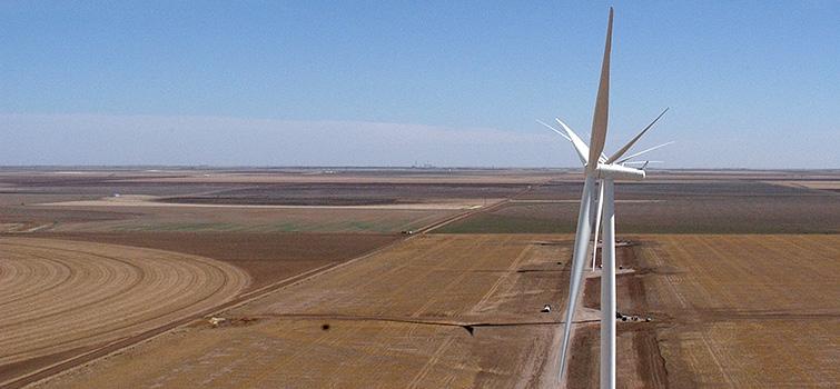 Pantex Plant's Wind Farm