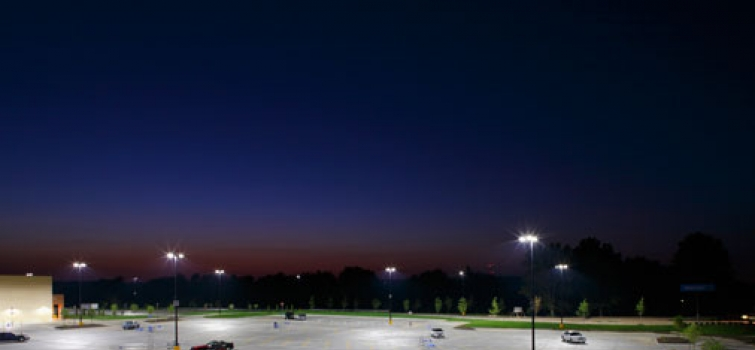 Walmart Partnership Brings LEDs to Parking Lots