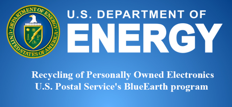 U.S. Postal Service BlueEarth Program - Personal Electronics Recycling Program