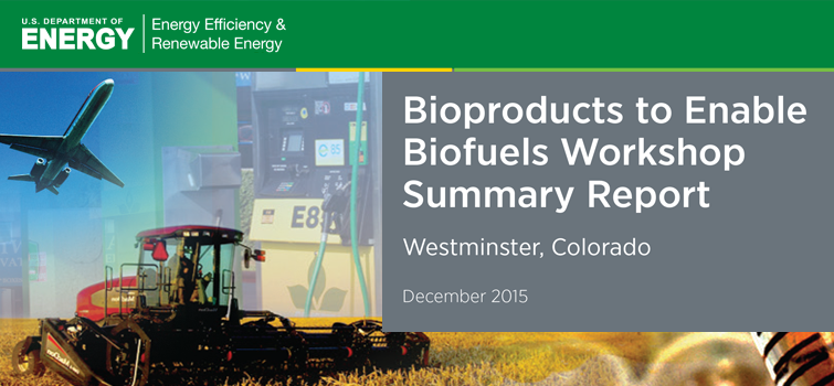 Bioproducts to Enable Biofuels Workshop Summary Report